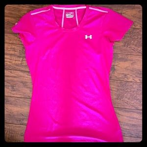 Under armour fitted heat gear tee